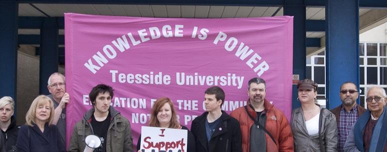 Teesside University UCU branch